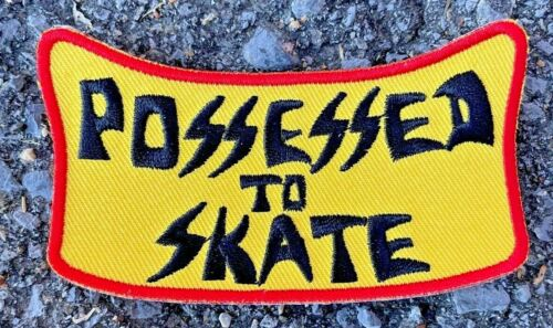 Dogtown Skateboards Suicidal Possessed To Skate Patch