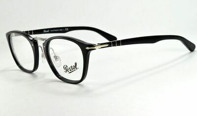 Persol  Eyeglasses Typewriter Edition 3109-V 95 Shiny Black  Frame 49 mm (Persol Spectacles)