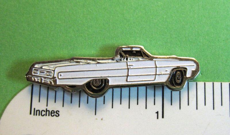1964  64  Chevrolet Impala convertible hat pin , tire tac , lapel pin , hatpin