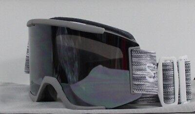 350451a83cf9c 2019 Smith Squad Ski Snowboard Goggles Cloudgrey ChromaPop Sun Platinum  Mirror