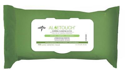 Medline Aloetouch Personal Cleansing Wipes  100 Count   Msc263854h