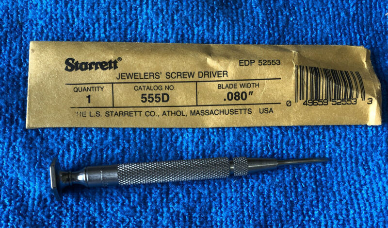 NEW~~Starrett 555D Jewelers