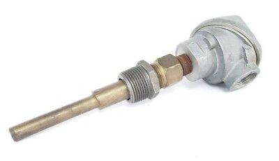 Generic Type J Thermocouple 3 Brass Probe