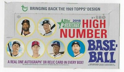 2018 Topps Heritage High Number Complete Base set (501-700) Soto Torres Acuna RC