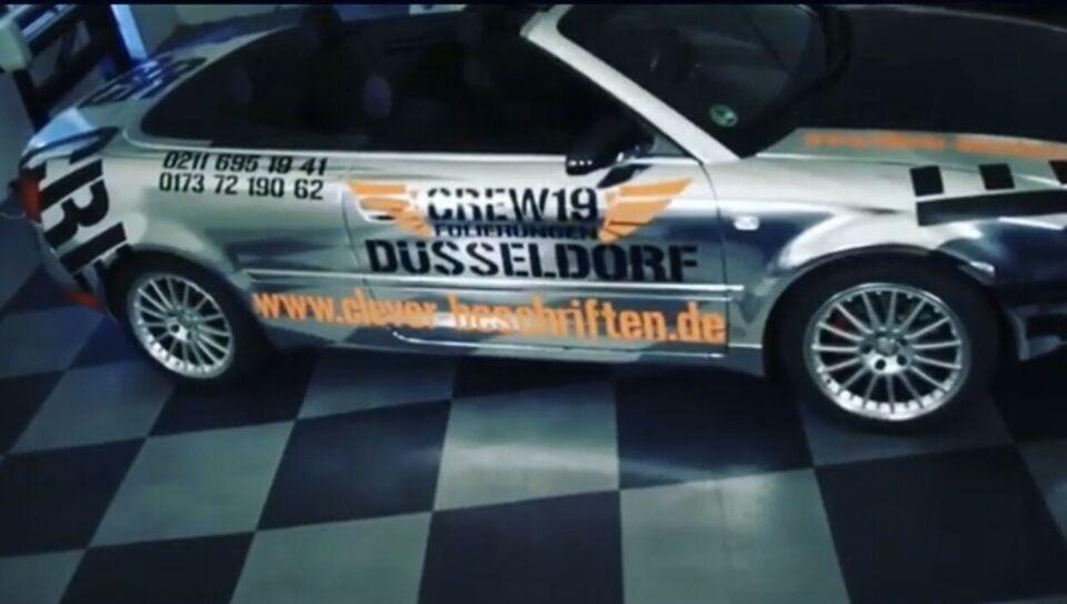 Carwrapping Folierung Düsseldorf Wuppertal Remscheid Hilden Neuss in Düsseldorf
