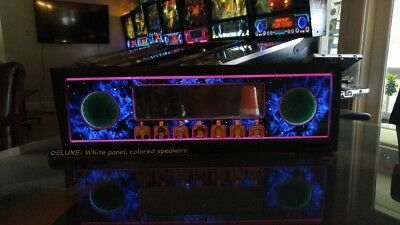 Doctor Who Bally Pinball Lighted Speaker Panel LED Color Upgrade- ULTIMATE