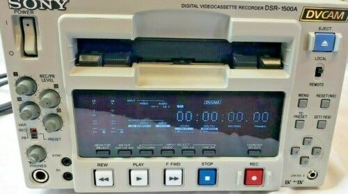 Sony DSR-1500A DVCAM Production Recorder
