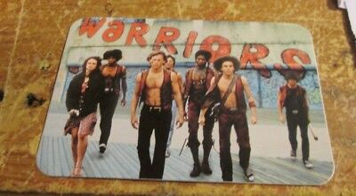 WARRIORS  STICKER COLLECTiBLE RARE  90'S  WINDOW DECAL