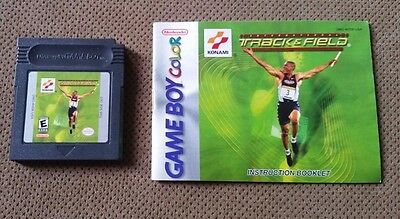 International Track   Field Gbc Game Boy Color With Manual Very Rare