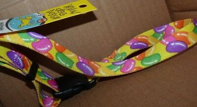 NEW Dog Collar Jelly Beans - Yellow - M Medium 14