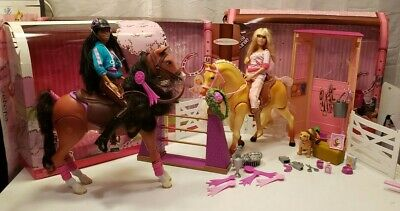 Barbie Dream Stable, Jumping Tipper, and Tawny horse with Original Boxes