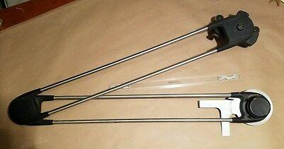Vintage Keuffel & Esser Co. Mechanical Drafting Machine Arm Engineer Tool