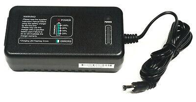 Powakaddy Golf 14.4v Batería de Ion Litio Cargador 2 Amp - 5.5mm Dc Gato