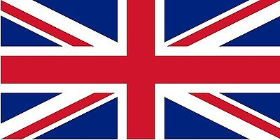 """UNION JACK FLAG 18"""" X 12"""" for boats treehouses BRITISH boat caravan flags"""