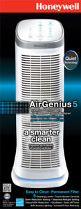 Honeywell AirGenius5 Air Purifier/Cleaner/Odor Reducer