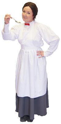 Viktorianisch / Edwardianisch Nanny Kostüm 3 Teile Kostüm - Edwardian Kostüme