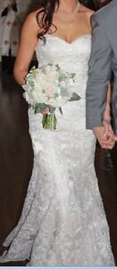 Beautiful Maggie Sottero Wedding Dress - Size 6