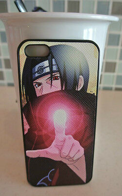 USA Seller Apple iPhone 5 / 5s / SE Anime  Phone case Cover Naruto Itachi Uchiha