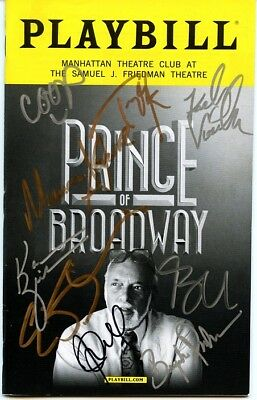 PRINCE OF BROADWAY In-person Cast Signed Playbill