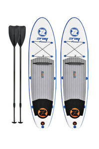 2 SUP Paddle Boards with Paddles - A2 ZRay Premium Paddle Board