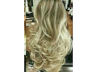 limited offer only for 1 month .20 years colouist and stylist half head highlights £39