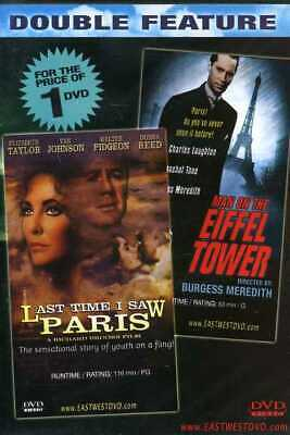 Man on the Eiffel Tower 1949 + Last Time I Saw Paris 1954 DVD MOVIE SET