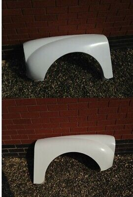 Morris Minor / 1000 Front Wings, pair, fits saloon and traveller