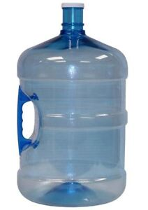 wanted large plastic bottle or jug to hold plant water