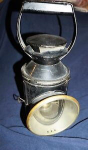 Vintage British Railway Oil Lantern 1940s/50s (Scotland)