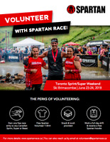 Volunteers Spartan Race - Brimacombe - June 23rd/24th