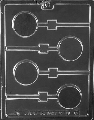 OREO COOKIE LOLLY MOLD mold Chocolate Candy candy molds plain on a stick