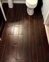 We do Hardwood, laminate, tiles.