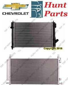 Chevrolet AC compressor Condenser Radiator Support Fan Cooling Compresseur AC Condenseur Radiateur Support Ventilateur