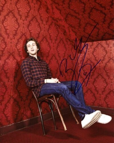 AUTOGRAPHE SUR PHOTO 20 x 25 de Baptiste LECAPLAIN signed in person photo proof