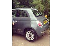 2014 dark grey Fiat 500 - very low mileage £6,000 ONO for quick sale