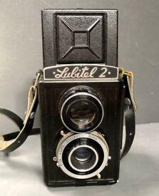 Vintage Camera, Old Soviet Camera