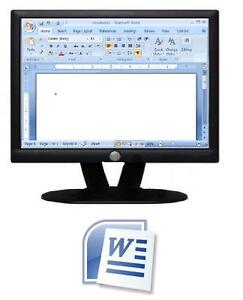 Free 2-Day Microsoft Word Workshop July 12th and 19th