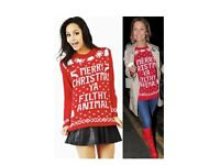 Wholesale Christmas jumpers. Unisex and christmas dresses
