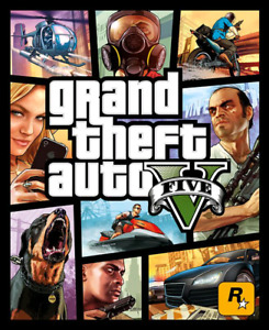 PS4 GTA 5 - 2 month old - $45