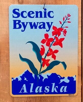 Alaska Scenic Byway Route sign