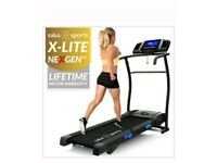 X-LITE NEX-GEN TREADMILL MANUAL INCLINE MOTORISED RUNNING MACHINE