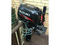 Suzuki 6hp outboard engine
