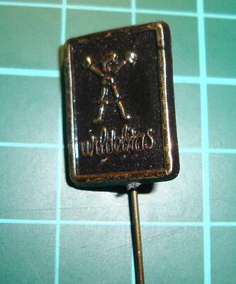 Wildebras poppen doll stick pin badge speldje lapel 60's plastic sa1, gebruikt tweedehands  Nederland