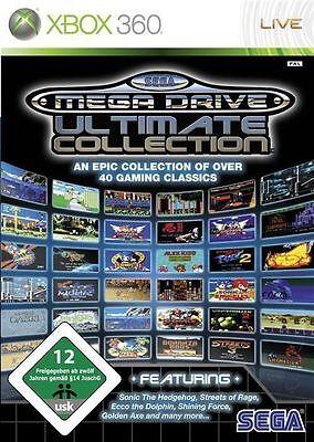 Microsoft XBOX 360 Spiel ***** Sega Mega Drive Ultimate Collection ******NEU*NEW (Sega Collection Xbox 360)