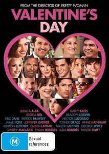 VALENTINE'S DAY DVD=JESSICA ALBA-JESSICA BIEL=REGION 4 AUSTRALIAN=NEW AND SEALED