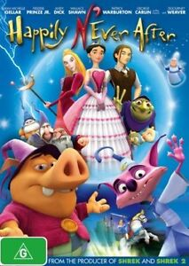 Happily N'Ever After NEW R4 DVD