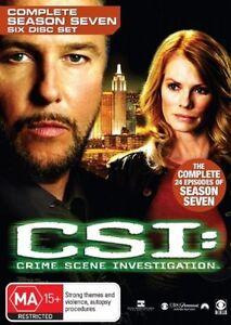 Csi Season 7 NEW R4 DVD