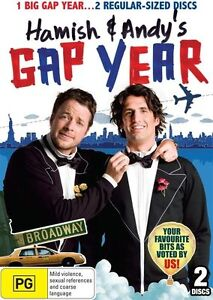 Hamish & Andy's Gap Year (DVD, 2011, 2-Disc Set) Brand New & Sealed R2, 4