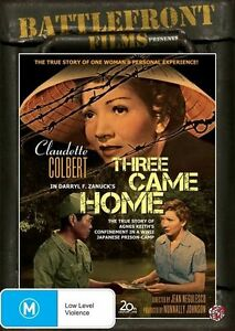 Three Came Home DVD R4