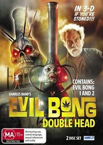 Evil Bong Double (DVD, 2011, 2-Disc Set)-FREE POSTAGE